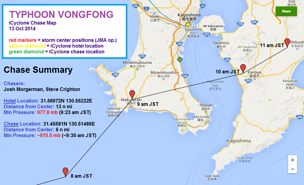 Vongfong Chase Map